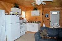 Kitchen Moose Cabin