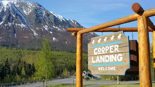 Cooper Landing - the heart of Kenai Peninsula