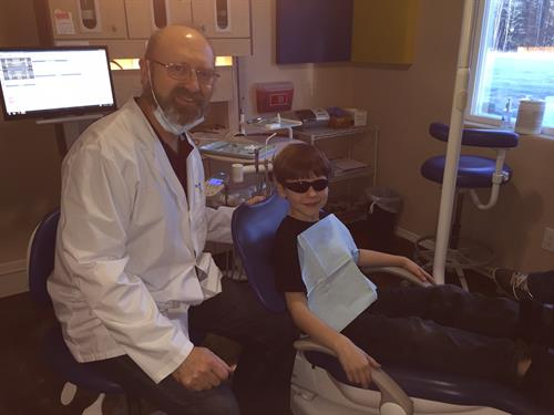 We certainly have the coolest patients!