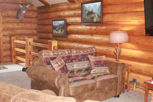 Wolf Cabin, Living Room