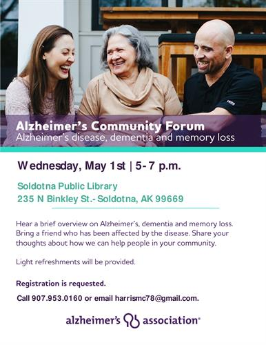 Community Forum, May 1, 2019