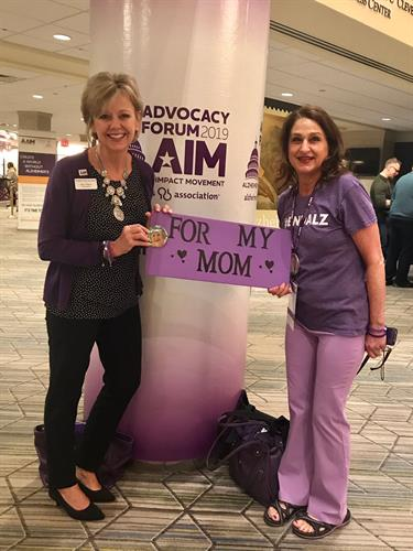 Alzheimer's Alaska Advocates in Washington D.C.