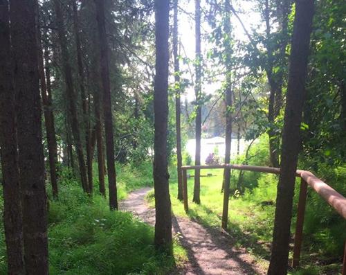 Campground like setting