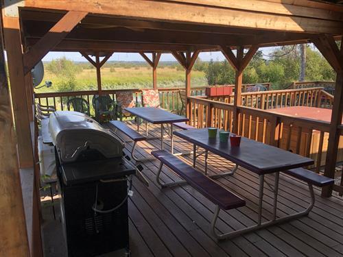 BBQ deck view