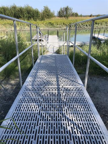 Ramp to dock