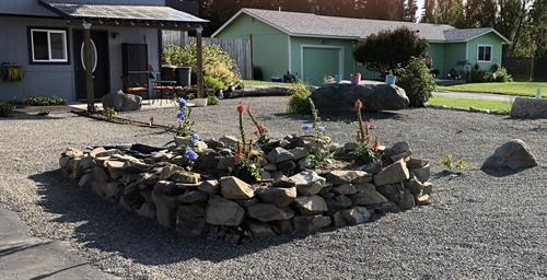 Front yard/patio