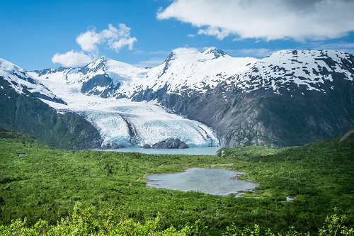 Portage Glacier is a top Anchorage attraction. Photo credit Visit Anchorage/JodyO.Photos
