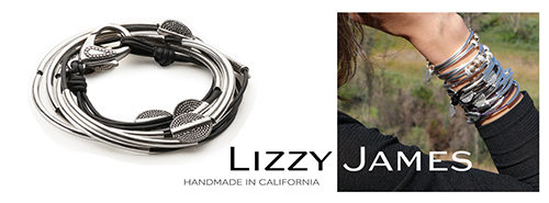 Wrap bracelets by Lizzy James
