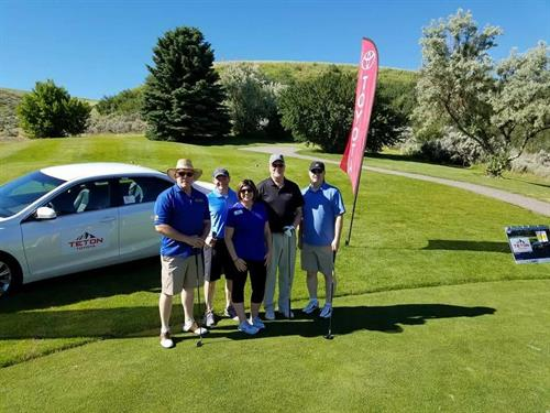CEI Foundation Board at Annual Bank of Idaho Swing for the Green Fundraiser