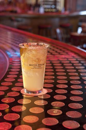 Bartender's Margarita in The Silver Dollar Bar