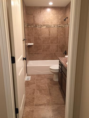 Bathroom after restoration!