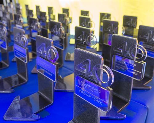 Accomplished Under 40 Awards