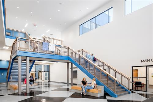Thunder Ridge High School - Main Stairs