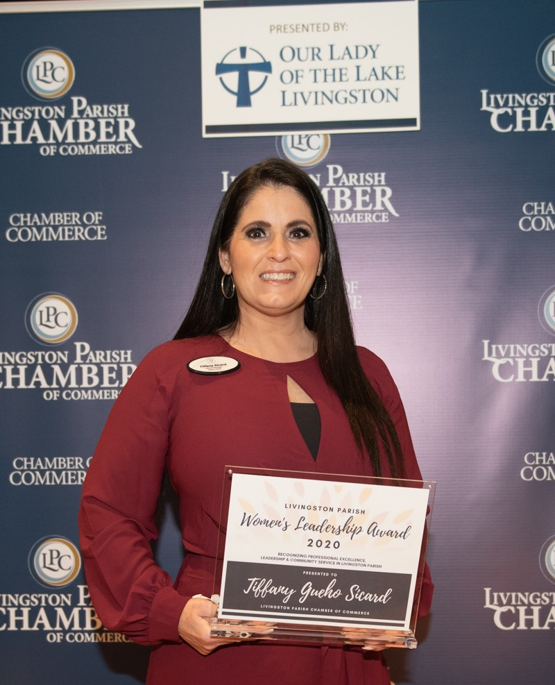 2020 Women's Leadership Award Winner, Tiffany Gueho Sicard