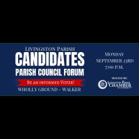 Parish Council Candidate Forum | Assessor & Judges Intros