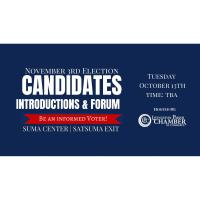 Candidates Forum & Introductions