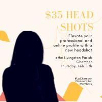 Chamber Member Event | $35 Head Shots
