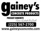 Gainey's Concrete Products