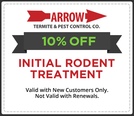 10% OFF Initial Rodent Treatment!