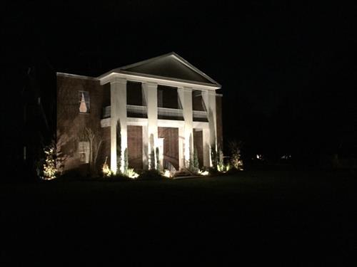 Landscape Lighting installed
