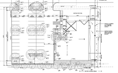 Hood Dental Office landscape plan