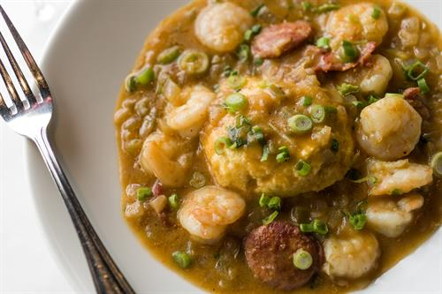 Zea Shrimp & Grits