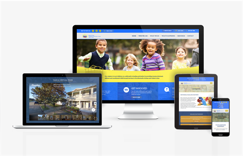 Fully Responsive Website Design for a Non-Profit Organization, The Baton Rouge Children's Advocacy Center