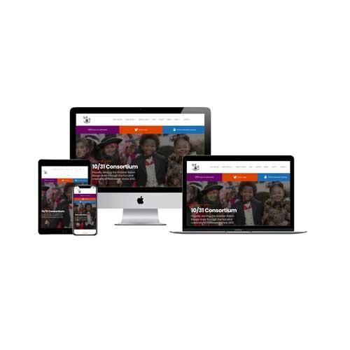 1031 Consortium Nonprofit Website Design