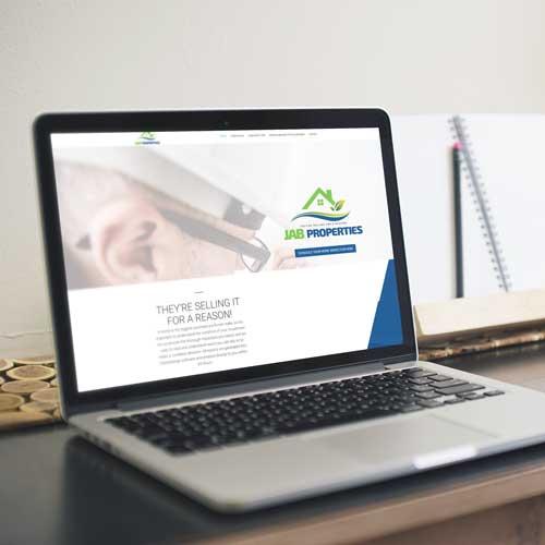 JAB Properties Home Inspector Website Design