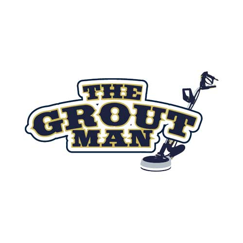 The Grout Man Logo Design