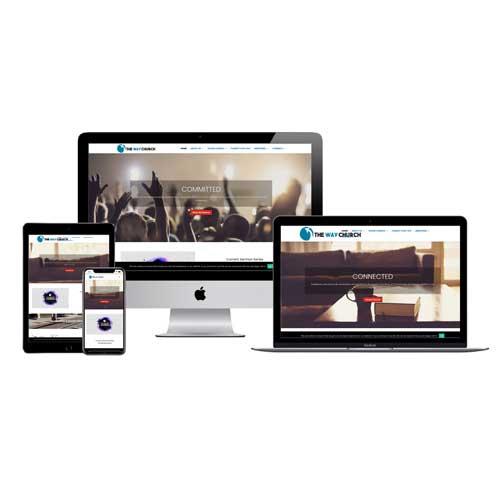The Way Church Denham Springs Website Design