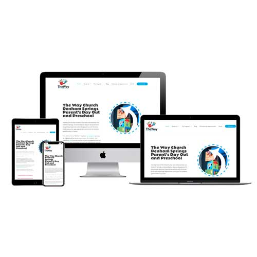 The Way PDO and Preschool Website Development