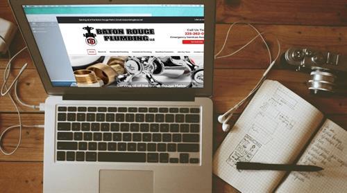 Baton Rouge Plumbing Website
