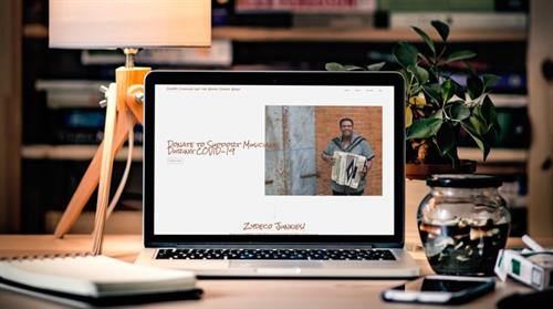 Grammy Award Winning Zydeco Artist Chubby Carrier Website Design