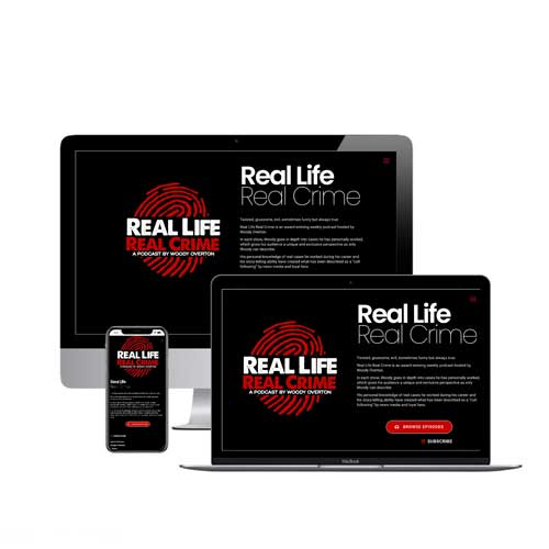 Real Life Real Crime Website Redesign