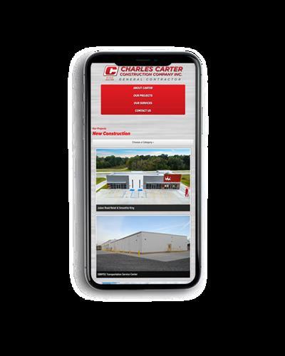 Charles Carter Construction Website Design