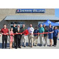 Sherwin-Williams in Walker Celebrates Ribbon Cutting