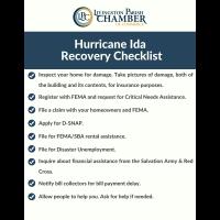 Hurricane Ida Recovery Checklist