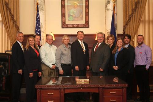 Jamie Chapman with Southwest Idaho Manufacturers Alliance - Mfg Day Proclamation - Governor Butch Otter's Office  www.CoachingCrossroads.com/meet-the-team