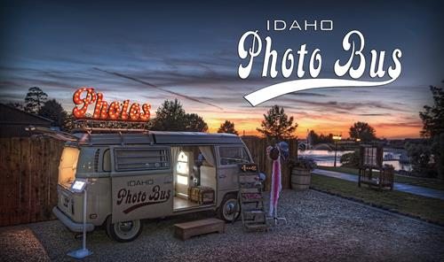 Idaho Photo Bus is Idaho's original VW photo booth.  Excellent photo booth options for private parties, weddings, community events or any special event where you want to create an unforgettable and one-of-a-kind photo experience