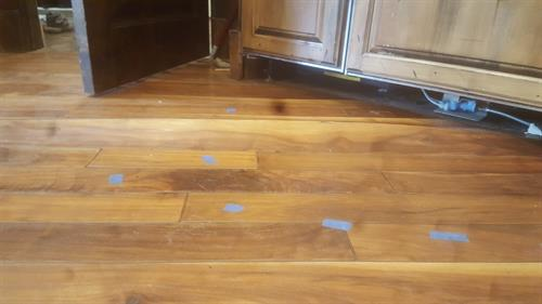 Water Damage Hard Wood Flooring