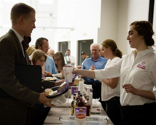 Meridian Chamber Lunch Catering