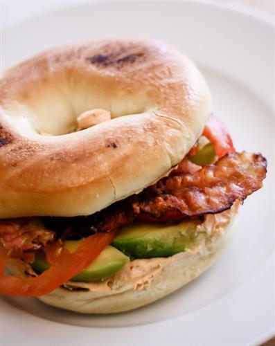 The Rosarito Bagel Sandwich