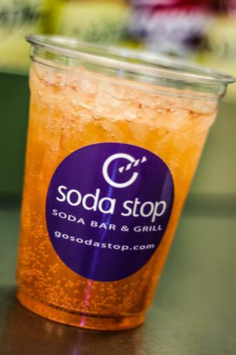 Strawberry Dew - one of our many Signature Sodas