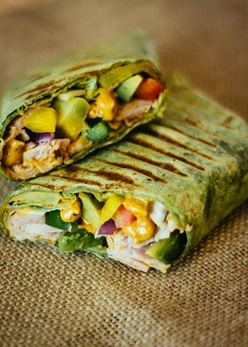 Grilled Texan Wrap