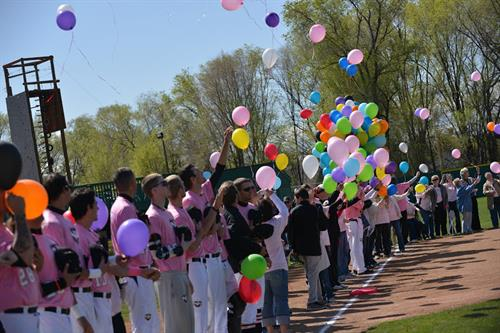 NNU Baseball team hosts Cancer Awareness Day