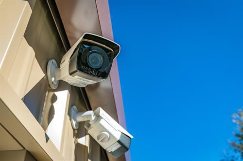 Security Cameras Near Gate Entrance