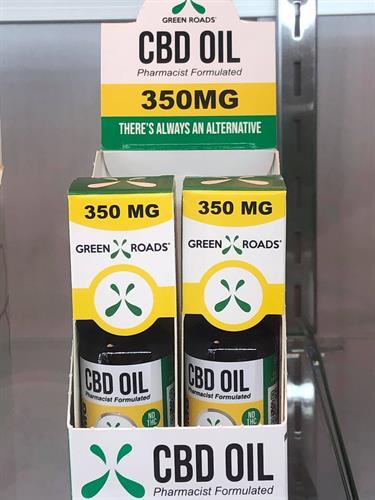 350 MG CBD Oil, 0%THC