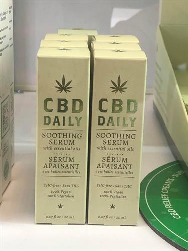 CBD Daily Serum, 0% THC