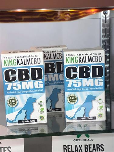 Animal-Safe CBD, Krill Oil Based